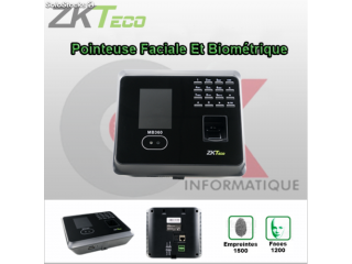 Pointeuse a Empreinte Digitale, Faciale et Code MB360