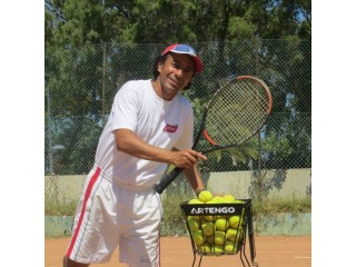Moniteur de tennis
