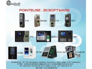 POINTEUSE  ZKSOFTWARE