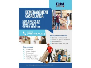Demenagement casablanca